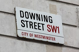 presenting queen downing street